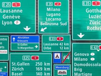 Autobahn / Autostrasse
