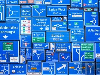Haupt- / Nebenstrasse